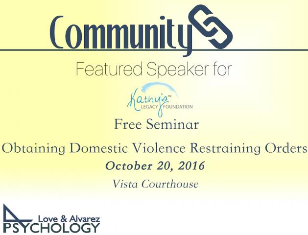 Love & Alvarez Free Seminar